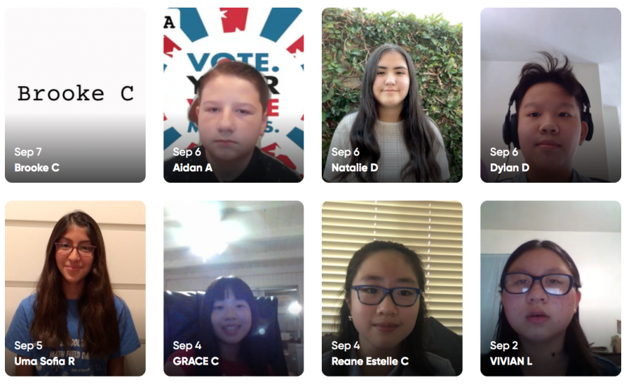 This year a fourth director was added to the seventh-grade ASB leadership. Students elected: Aidan Andrews, Grace Chan, Dylan Duong, and Uma Sofia Rizo (by Ms. Ngeth and Ms. McDonald)