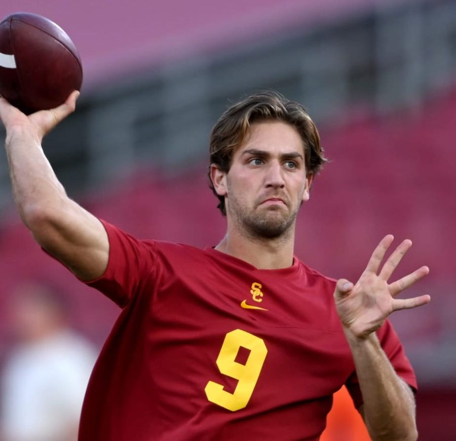 Kedon Slovis holds starting QB position at Southern Cal (Provided by Sports Illustrated)